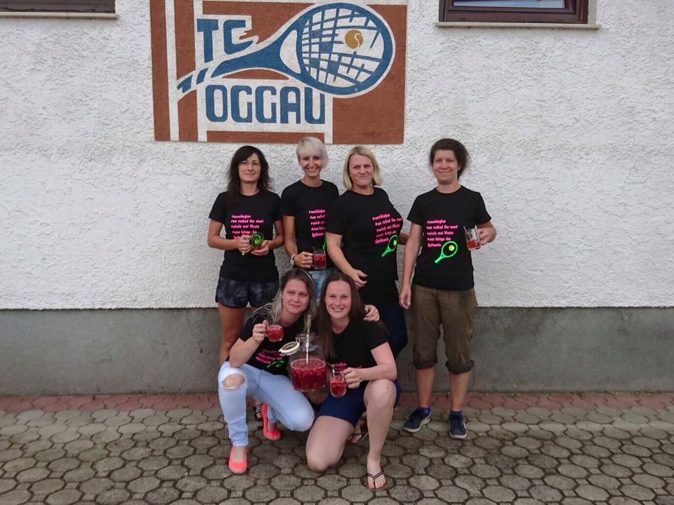 TC Oggau Damen Meistermannschaft